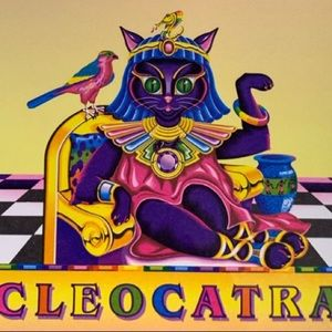 Cleocatra stationery sheet (one sheet new vintage)